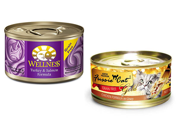 Wellness Cat & Fussy Cat canned food special