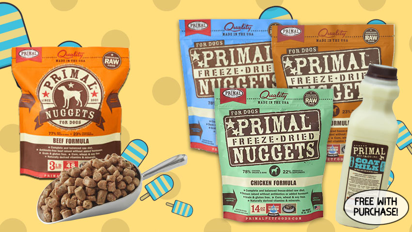 may specials primal raw and freeze dried products