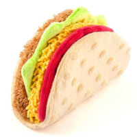 Play Taco plush toy