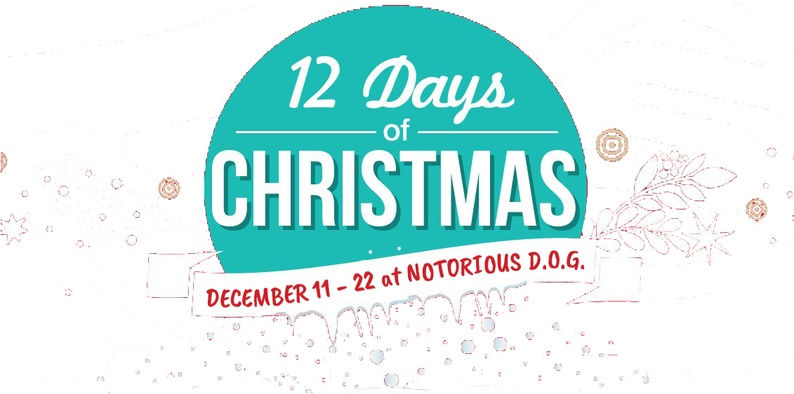 Notorious 12 Days of Christmas