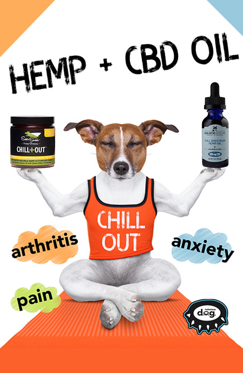 Hemp + CBD oil
