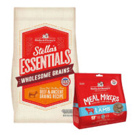 Stella's Essentials Grains and freeze dried meal mixers