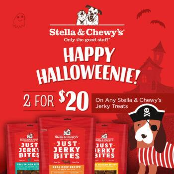 jerky treats 2 for $20